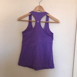 lululemon athletica Tops - Lululemon Purple Cool Racerback Tank
